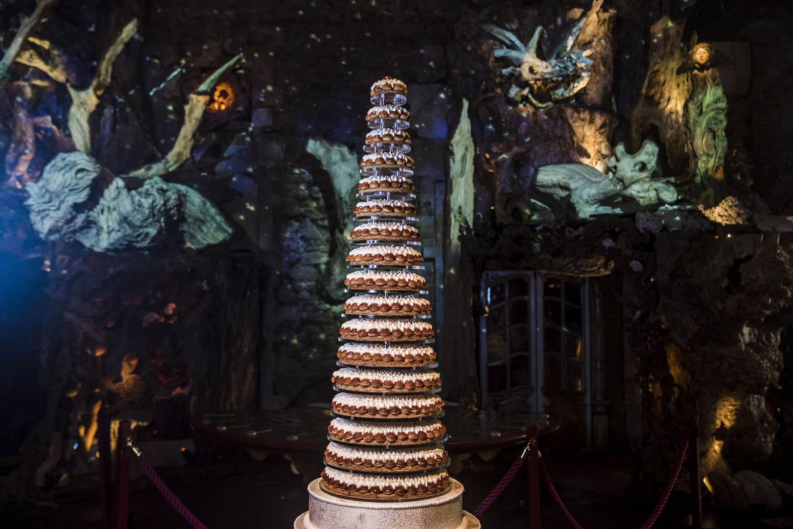 WEDDING CAKE BY CEDRIC GROLET - PARIS